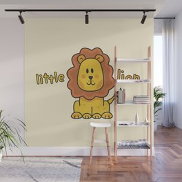 Little Lion Wall Mural
