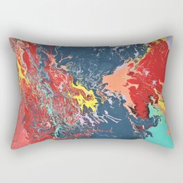 Cosmic Collision Rectangular Pillow