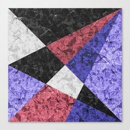 Marble Geometric Background G435 Canvas Print