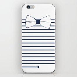 Noeud Pap marin iPhone Skin