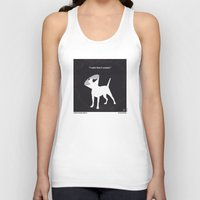 snatch Tank Tops featuring No079 My Snatch minimal movie poster by Chungkong