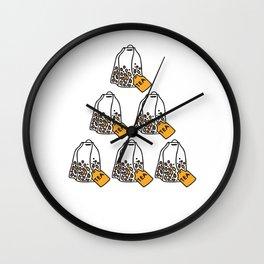 Six Tea 60th Birthday Born In 1960 Gift Wall Clock