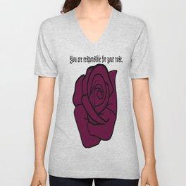 Your Rose Unisex V-Neck