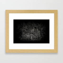 Gone and Forgotten Framed Art Print