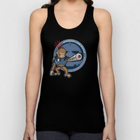 Automated Laser Monkey Unisex Tank Top