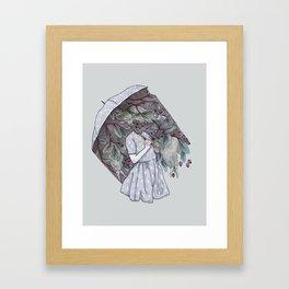 Black Cloud Framed Art Print