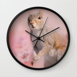 Time For Spring Planting Wall Clock