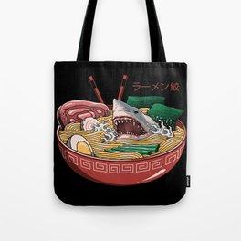 Ramen Shark Tote Bag