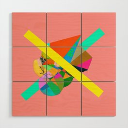 """COLLAGE: """"PINK"""" Wood Wall Art"""