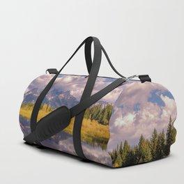 The Grand Tetons Autumn OLena Art Fall Colors Photography Duffle Bag