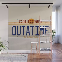 California Out A Time Wall Mural
