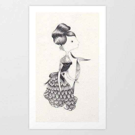 jocaste Art Print