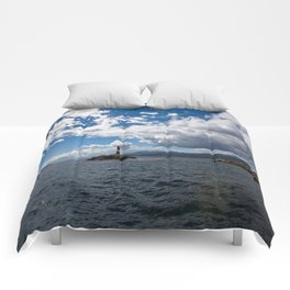 lighthouse #1 Comforters