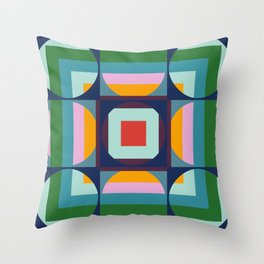Funky Groovy Mega Disco Throw Pillow