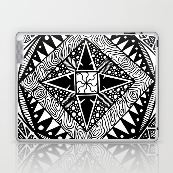 Deco Laptop & iPad Skin
