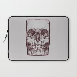 Front Skull Laptop Sleeve