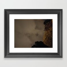 Night Clouds Framed Art Print