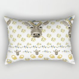 Gather Around the Farmhouse Rectangular Pillow