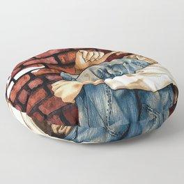 D Note Floor Pillow