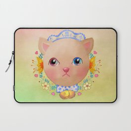 Cat you put the universe in the eyes Laptop Sleeve