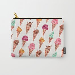 Ice Cream Cones – Rainbow Palette Carry-All Pouch