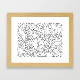 The 11th Fox Framed Art Print