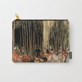 """Kay Nielsen Fairytale Illustration """"12 Dancing Princesses"""" Carry-All Pouch"""
