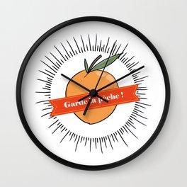 Garde la pêche ! Wall Clock