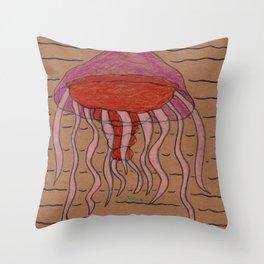 Lion's Mane Jelly Throw Pillow