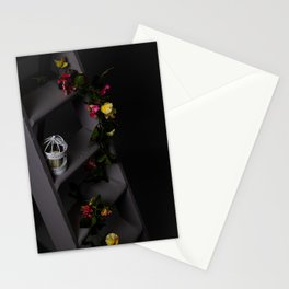 Flowers of night Stationery Cards