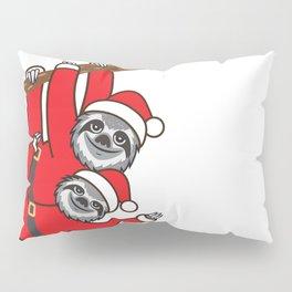 Santa Sloths Pillow Sham