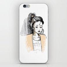 Frenchy Girl iPhone & iPod Skin