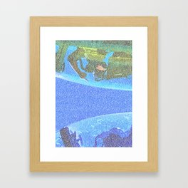 Top Gun Screenplay Print Framed Art Print