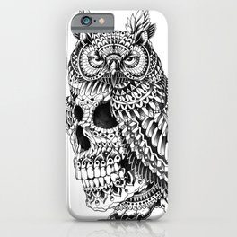 Great Horned Skull iPhone Case