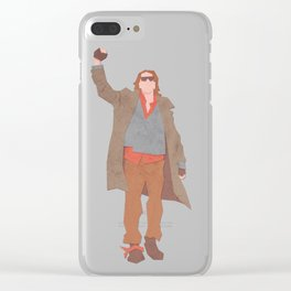 Sincerely Yours (The Breakfast Club) Clear iPhone Case