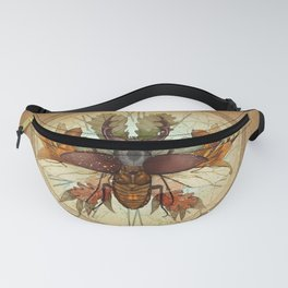 The beetle and the autumn Fanny Pack