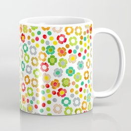 dp065-10 floral pattern Coffee Mug