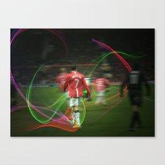 Ronaldo Remix Canvas Print