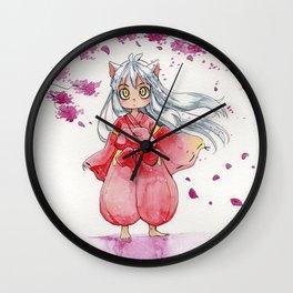 Inuyasha bebe Wall Clock