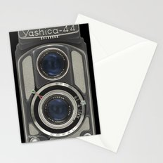 Vintage Camera (Yashica 44) Stationery Cards