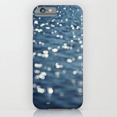 Water Sparkles Photography, Sparkly Ocean, Dark Sea Moonlight iPhone 6s Slim Case