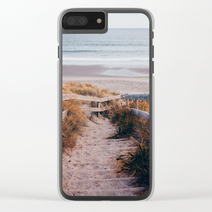 Summer Dreams Clear iPhone Case