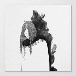 the war zone. Canvas Print