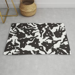 3 Silhouettes Rug