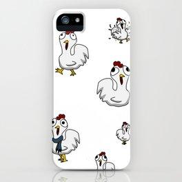 Pollitos iPhone Case