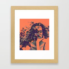 BehindPlant. Framed Art Print