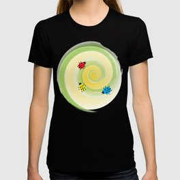 Ladybirds on the Vine T-shirt