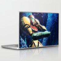 samus Laptop & iPad Skins featuring Samus by Louten