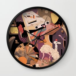 The IDONTKNOW Wall Clock