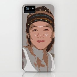 China Girl iPhone Case